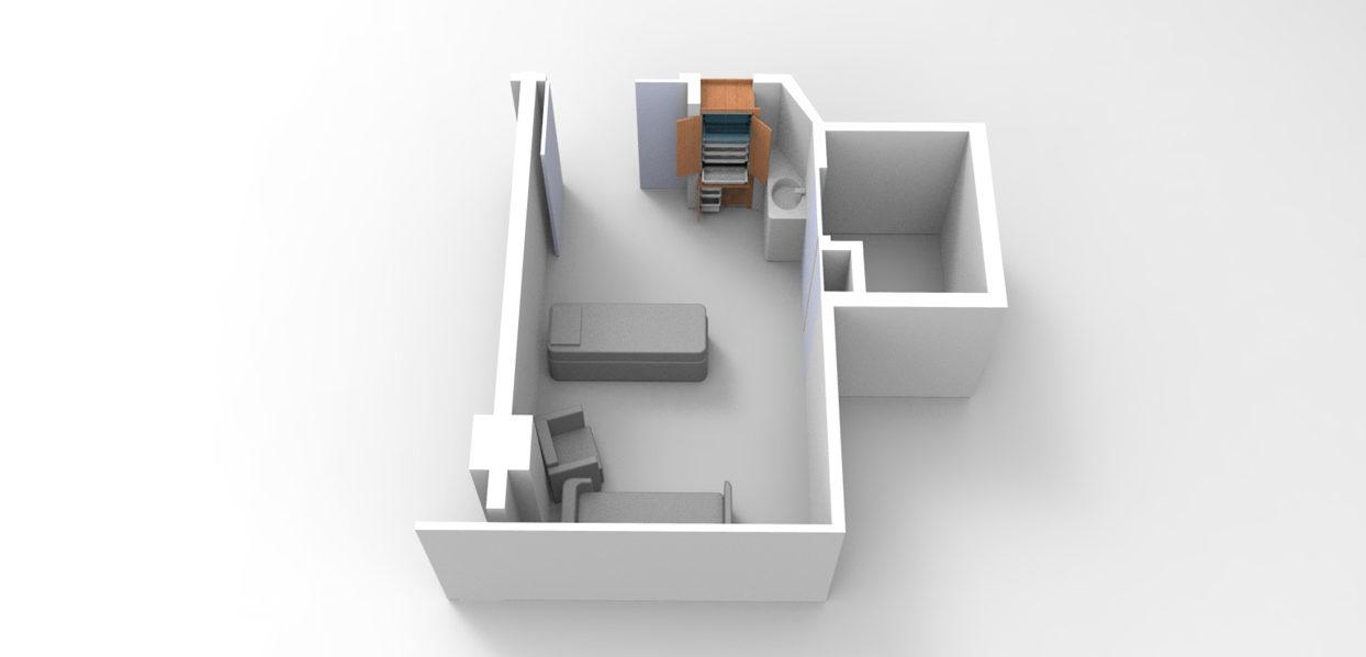 Moduflex© - interior rendering