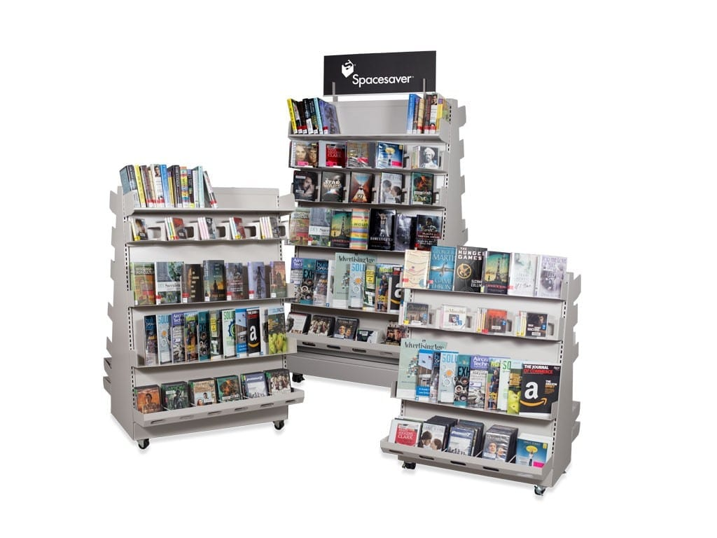 Spacesaver A-frame Library Shelves