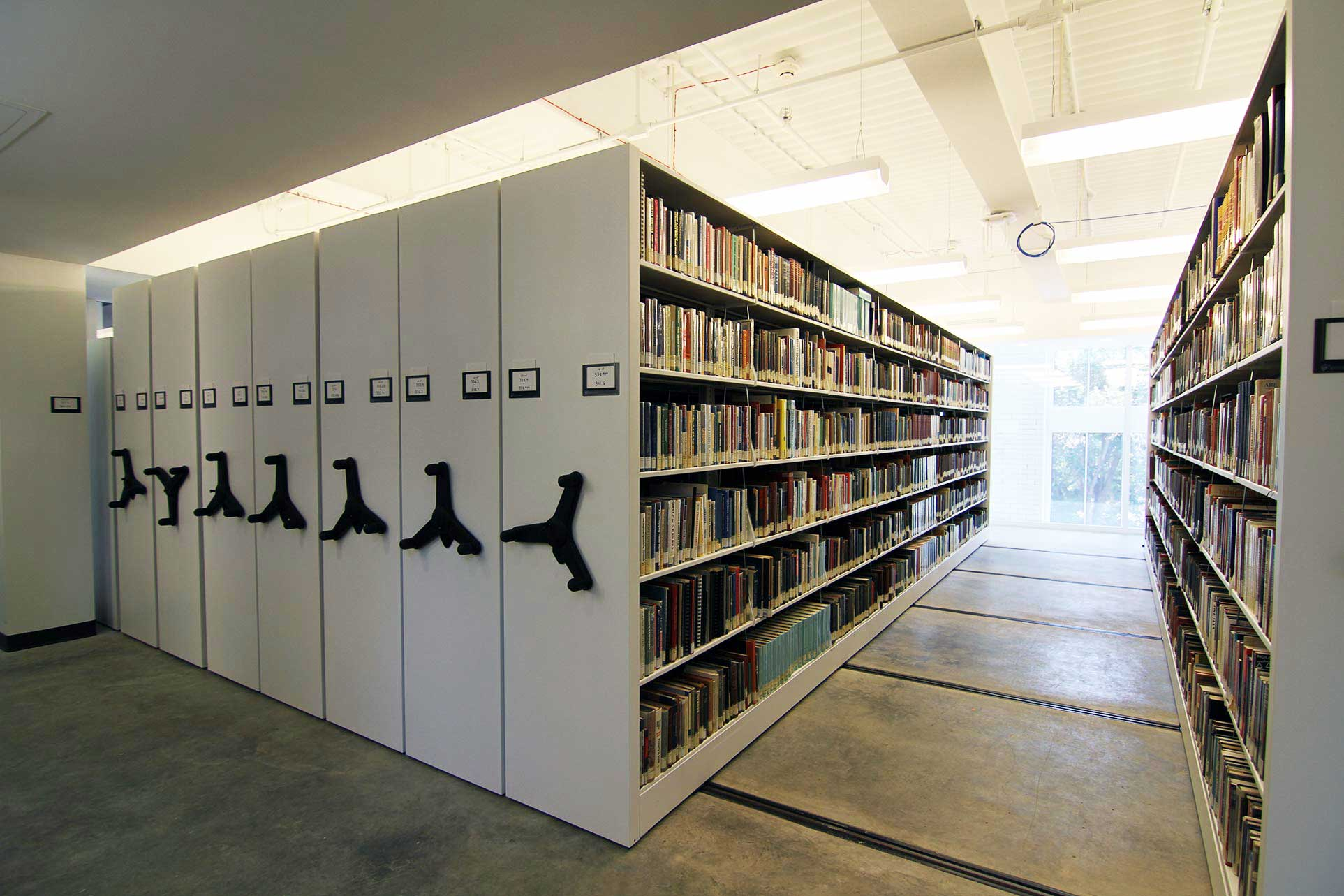 Education libraries storage