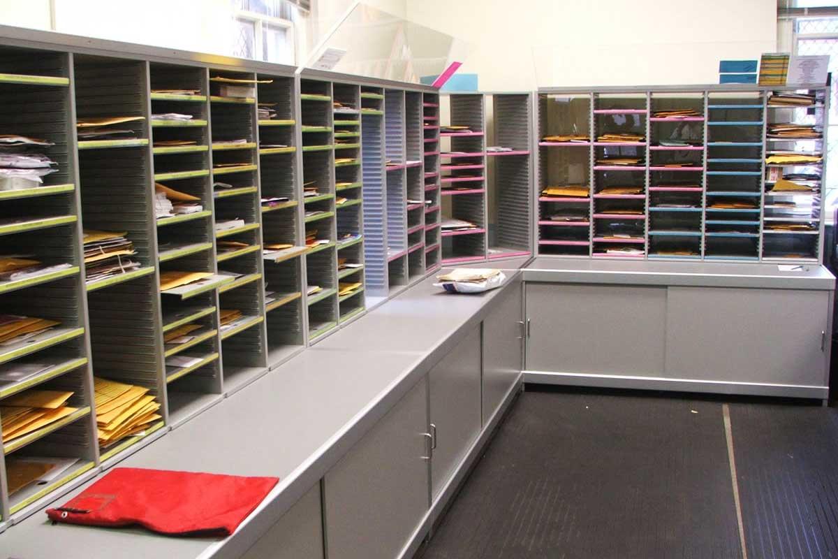 Mailroom Furniture & Shelving│Bradford Systems