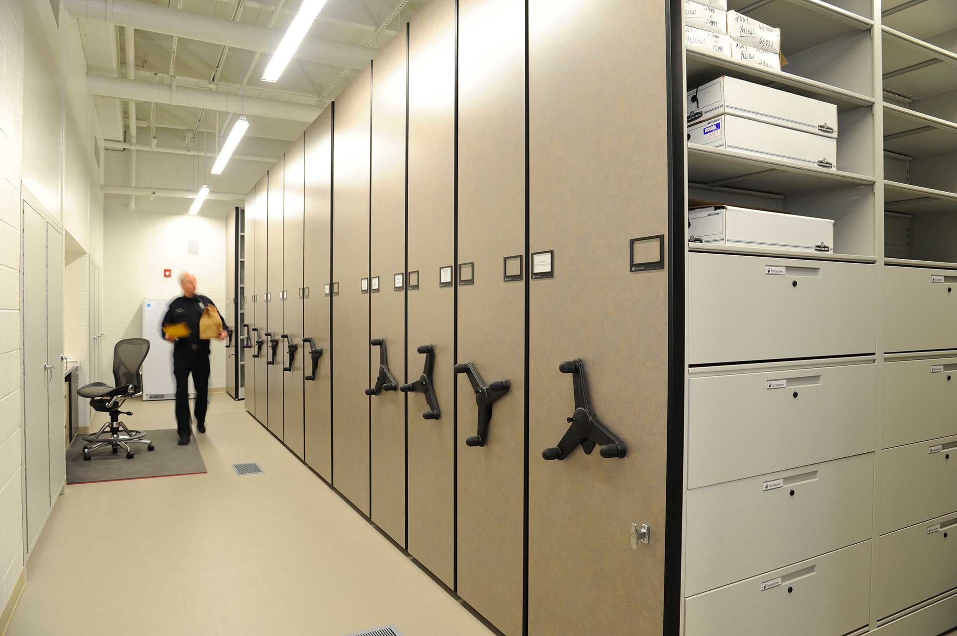 Standard High Density Mobile Storage Bradford Systems