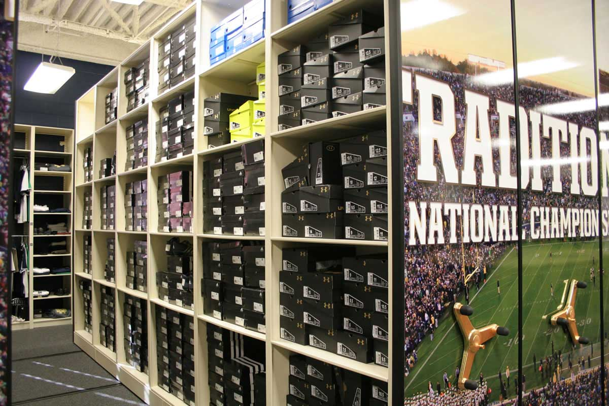 Athletic Storage Solutions | Bradford Systems