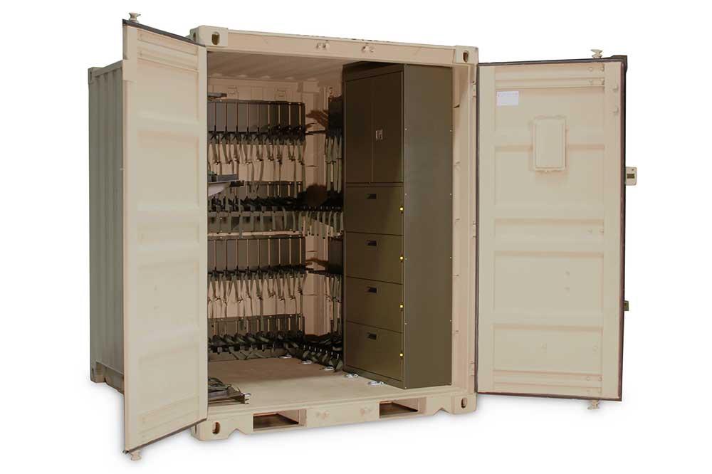 Modular Locker Room
