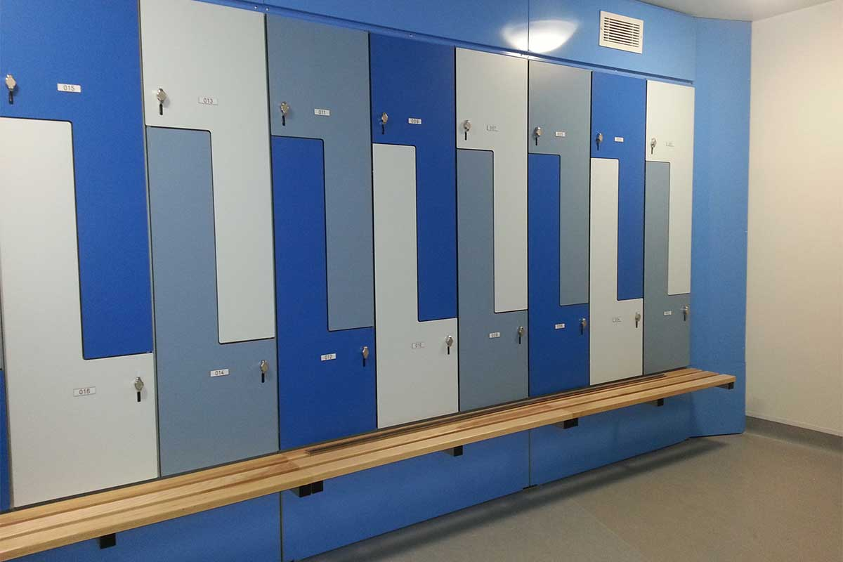 Recreation Lockers Kwik Lockers│bradford Systems
