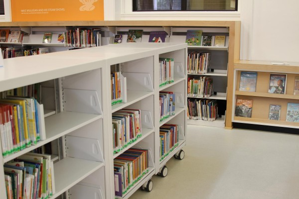 Library Storage Shelving Solutions