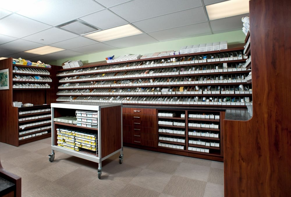 Healthcare Storage Solutions Pharmacy Design