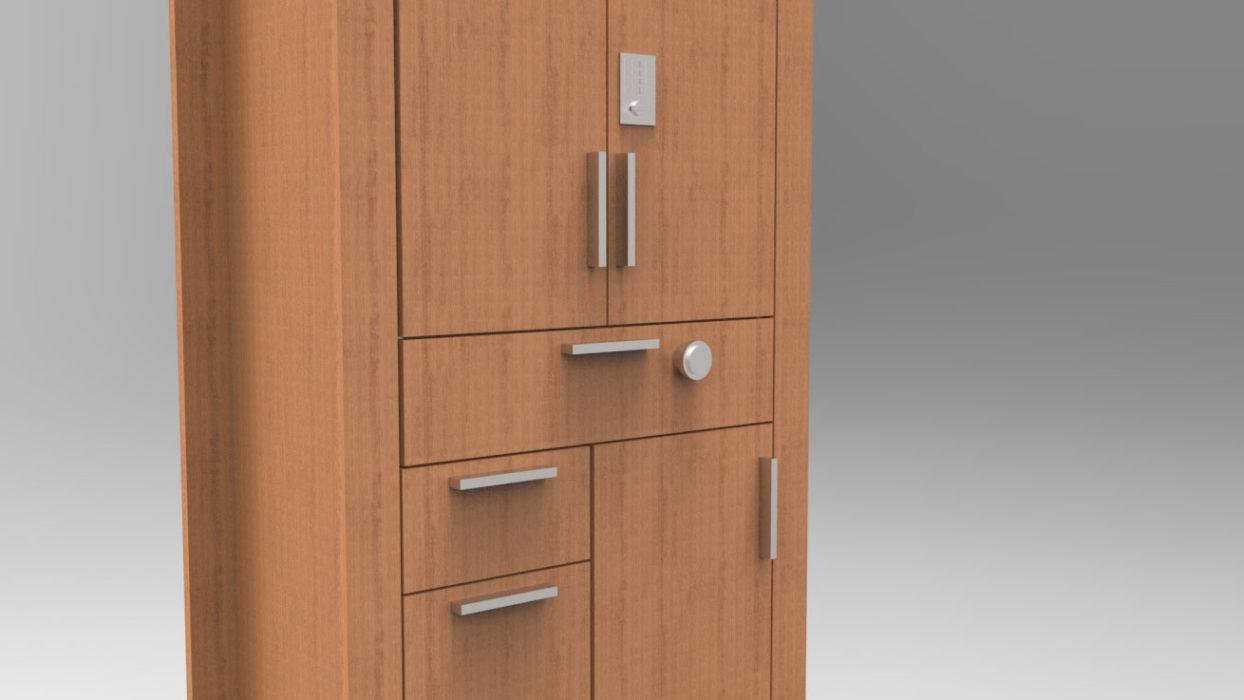 Moduflex© - closed, exterior casing
