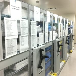 operating room storage - advocate good shephard