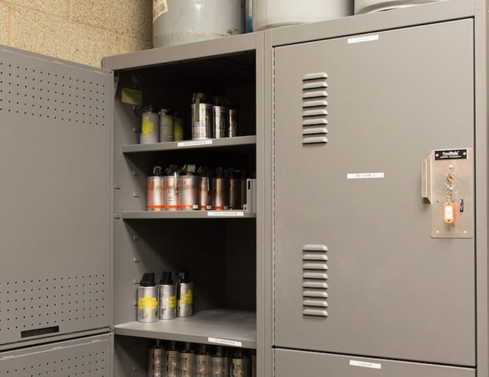 police-station-hazardous-materials-storage