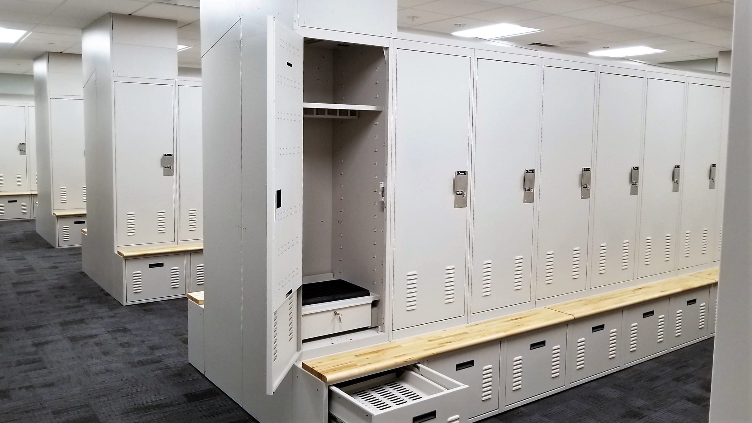 O'Fallon PD Lockers 1