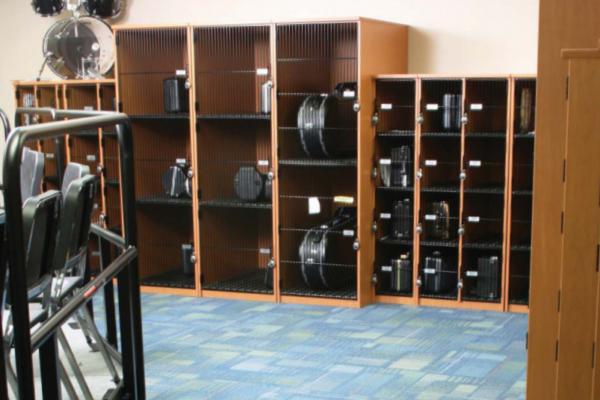 band instrument storage