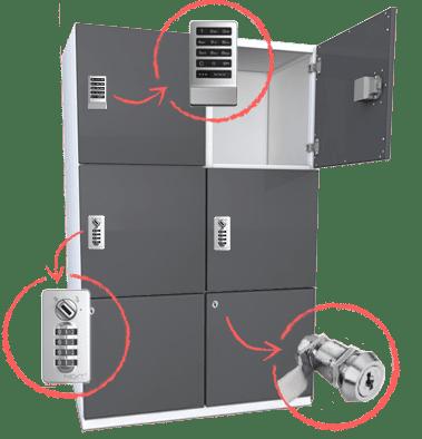 spacesaver locker lock compatibility
