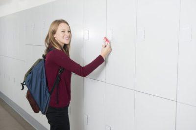smart locker universities