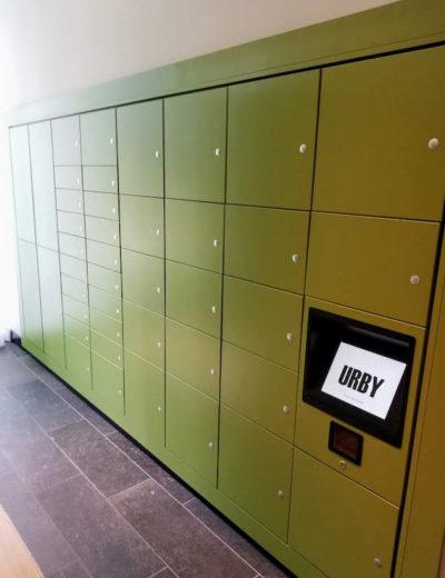 urby harrison package lockers