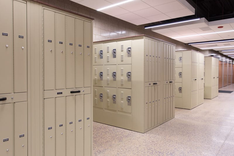 gear lockers for AHPD
