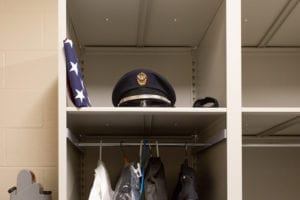 honor guard storage for AHPD