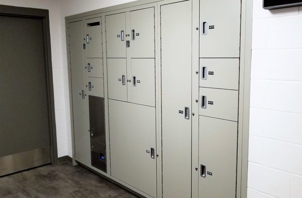 EPD Evidence Storage Lockers