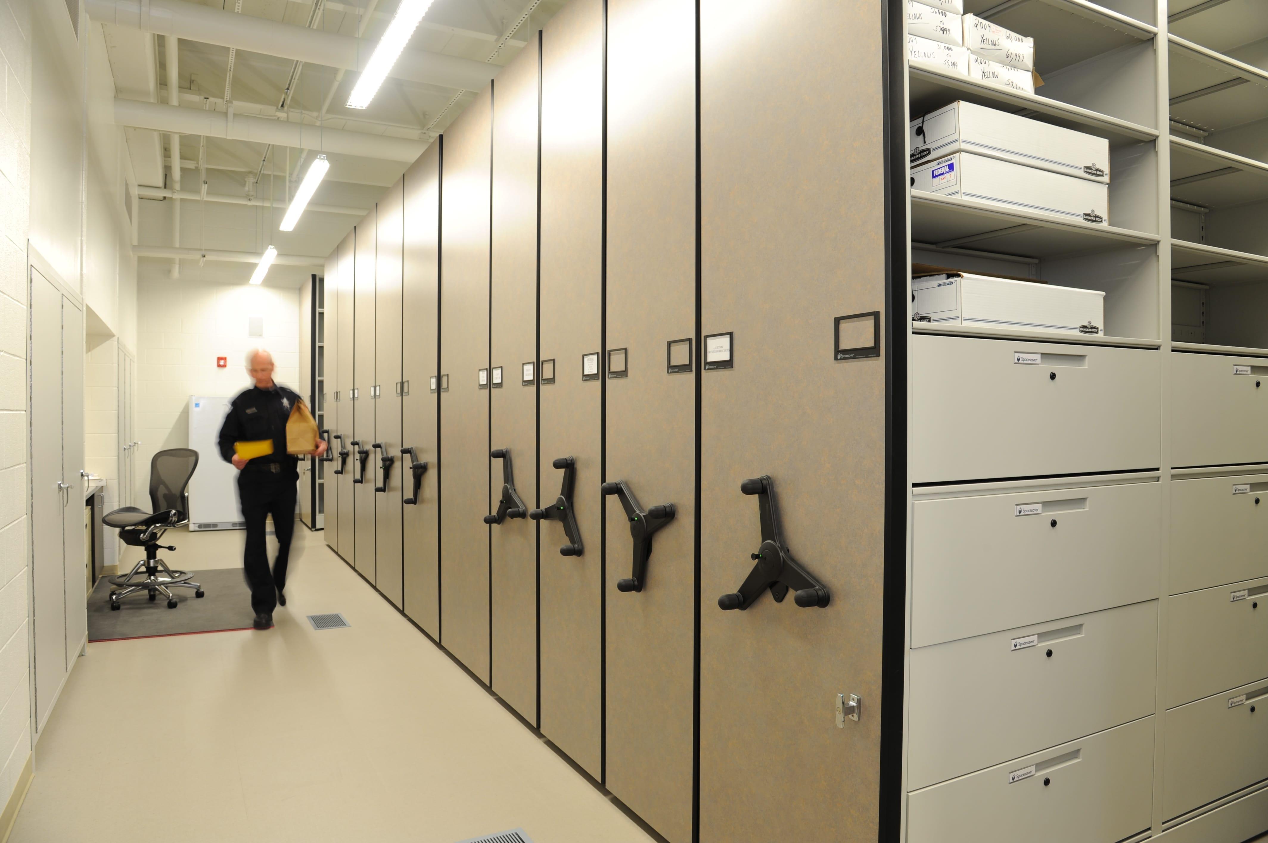 Mechanical Assist Records Storage - Skokie PD