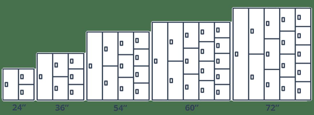locker diagram