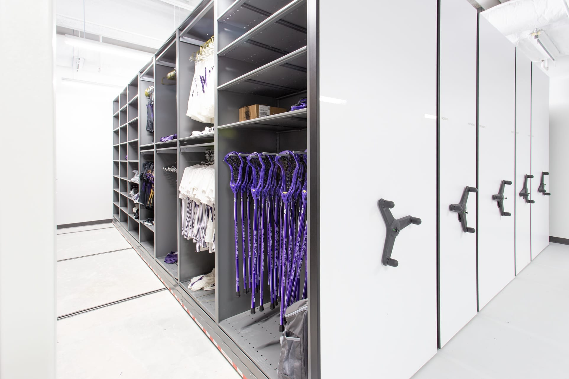 NU Athletics - Variable Shelving