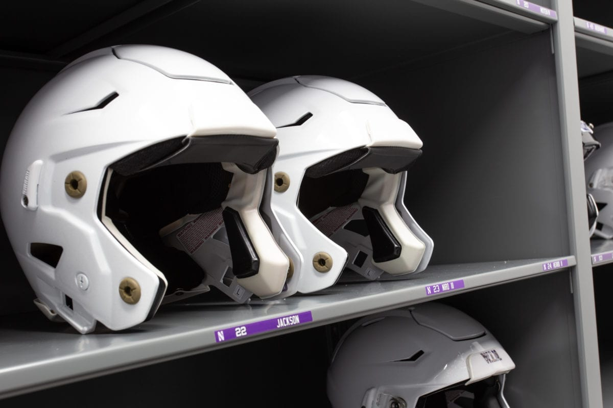 NU Athletics - Lacrosse Helmets