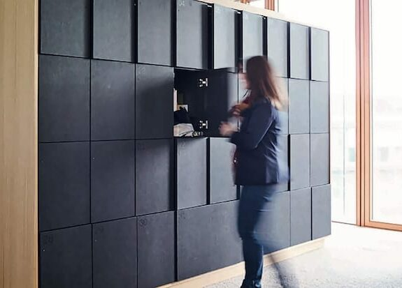 day use lockers in free use mode