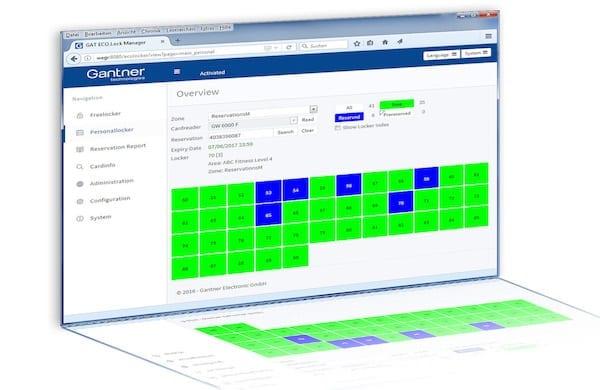 mailroom and locker management software