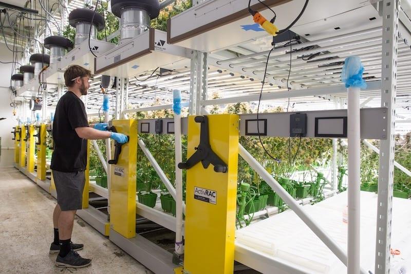 activrac for indoor farming