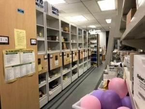storage for truman college lab