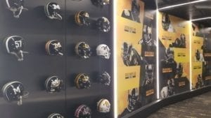 Mizzou Tigers Display Wall