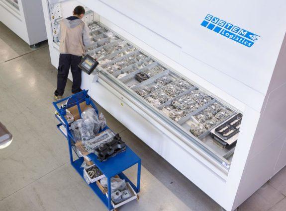 Birds Eye automotive fixed ops storage