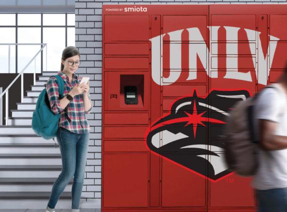 UNLV Contactless Smart Lockers