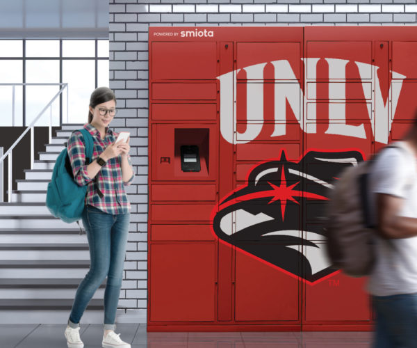 UNLV Contactless Smart Lockers