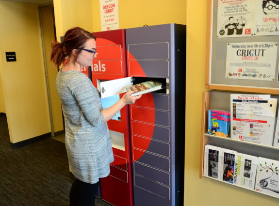 smart locker book return bank