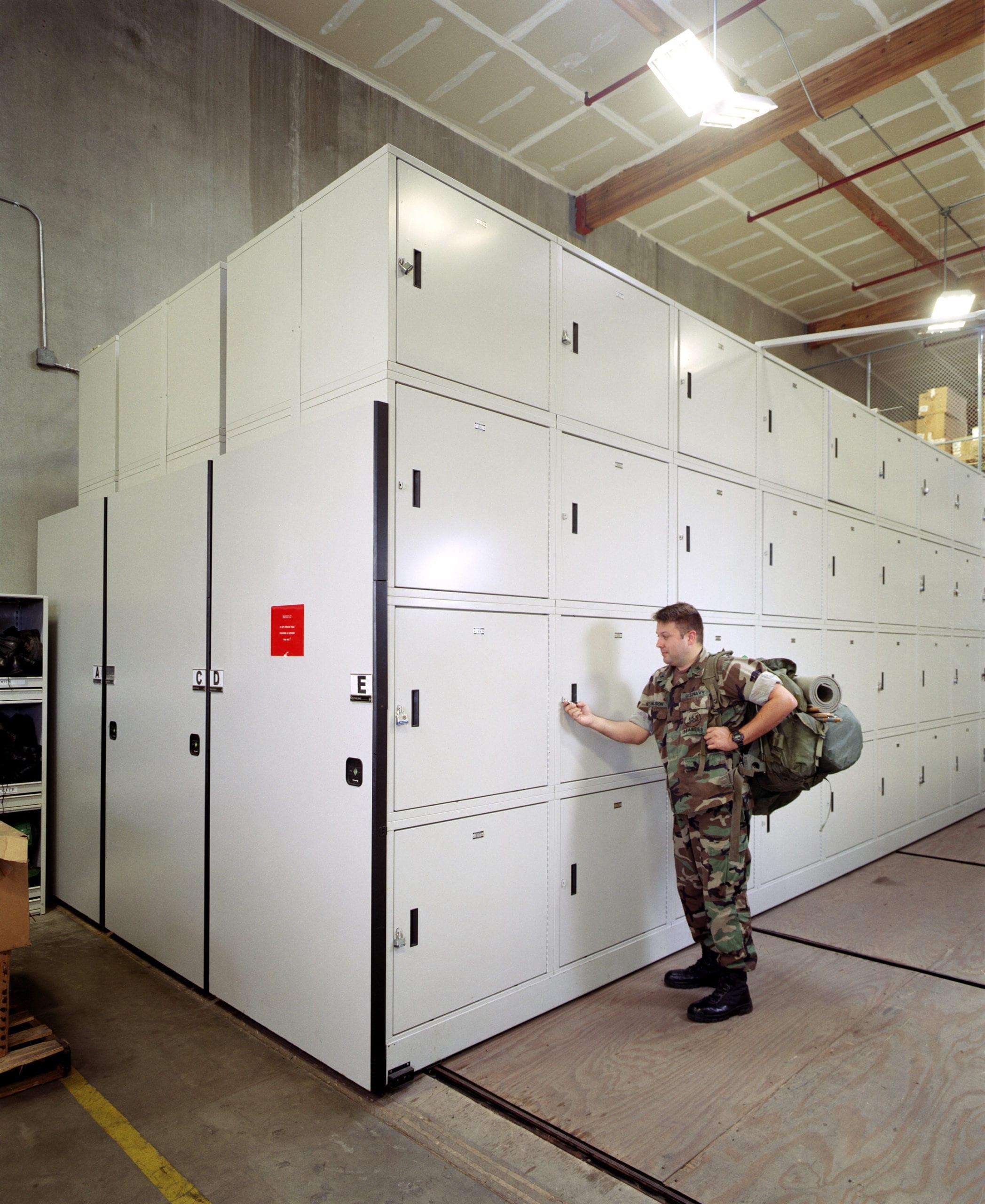 Coronado Naval Base Locker Banks 2