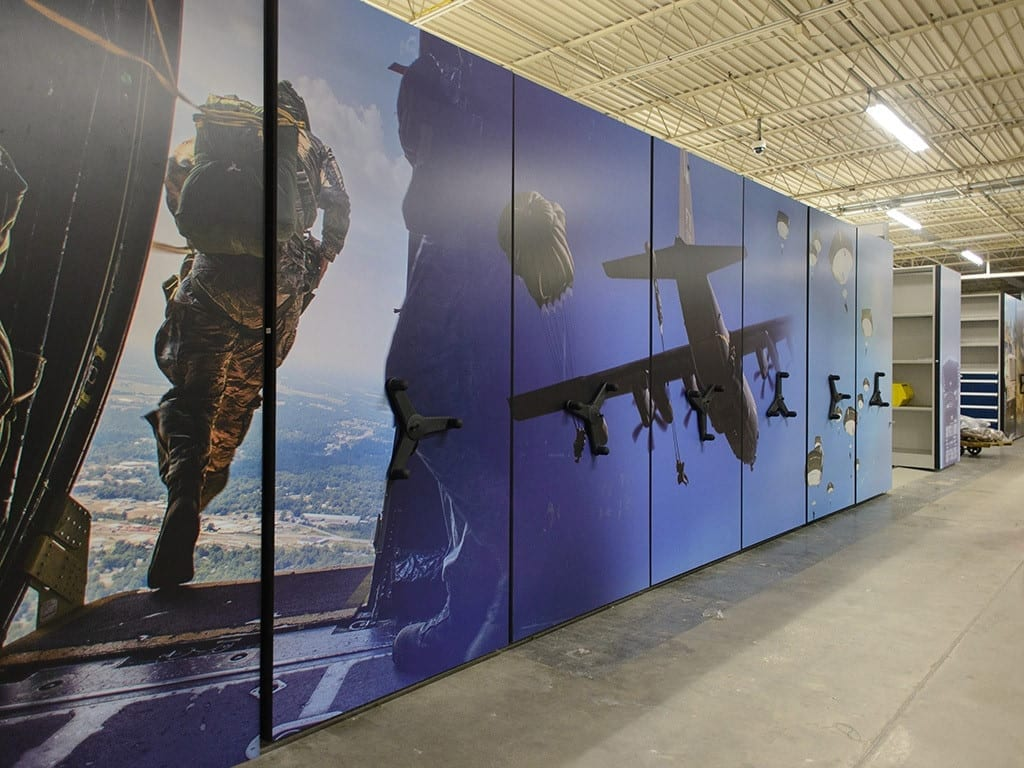 Armed forces graphics wrap